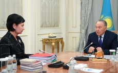 Meeting with State Secretary Gulshara Abdykalikova
