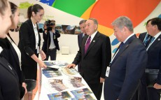 Visit to World Future Energy Summit exhibition