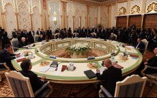 Participation in the meeting of the Council of CIS Heads of State