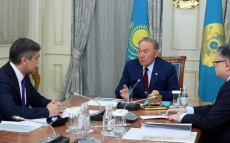 Meeting with Nurlan Yermekbayev, Minister of Religious Affairs and Civil Society