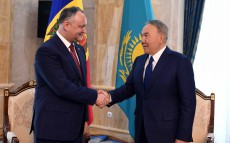 Meeting with President of the Republic of Moldova Igor Dodon