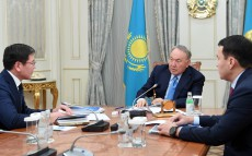 Meeting with Askar Zhumagaliyev, Deputy Prime Minister