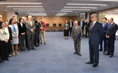 President of Kazakhstan Kassym-Jomart Tokayev visits the new UN office in Almaty
